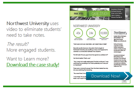 Northwest University Case Study - Panopto Video Platform