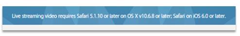 Apple Fehler - Panopto Live Streaming für Veranstaltungen Blogbeitrag
