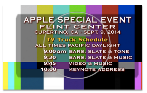 Apple Live Stream Video Error 2014