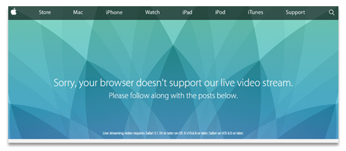 Apple Live Stream Video Error - Panopto Live Streaming for Events blog post