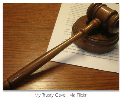 My Trusty Gavel - Flickr