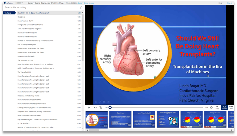 Should We Still Do Heart Transplants - Panopto Video Presentation Software