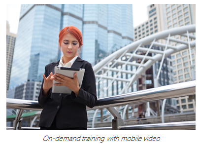 Training Young Workers with Mobile Video - Panopto