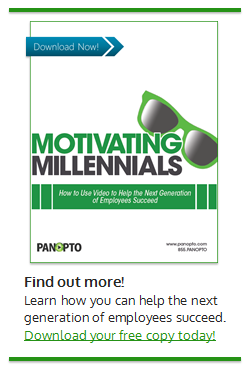 Motivating Millenials White Paper - Panopto Training Video Platform
