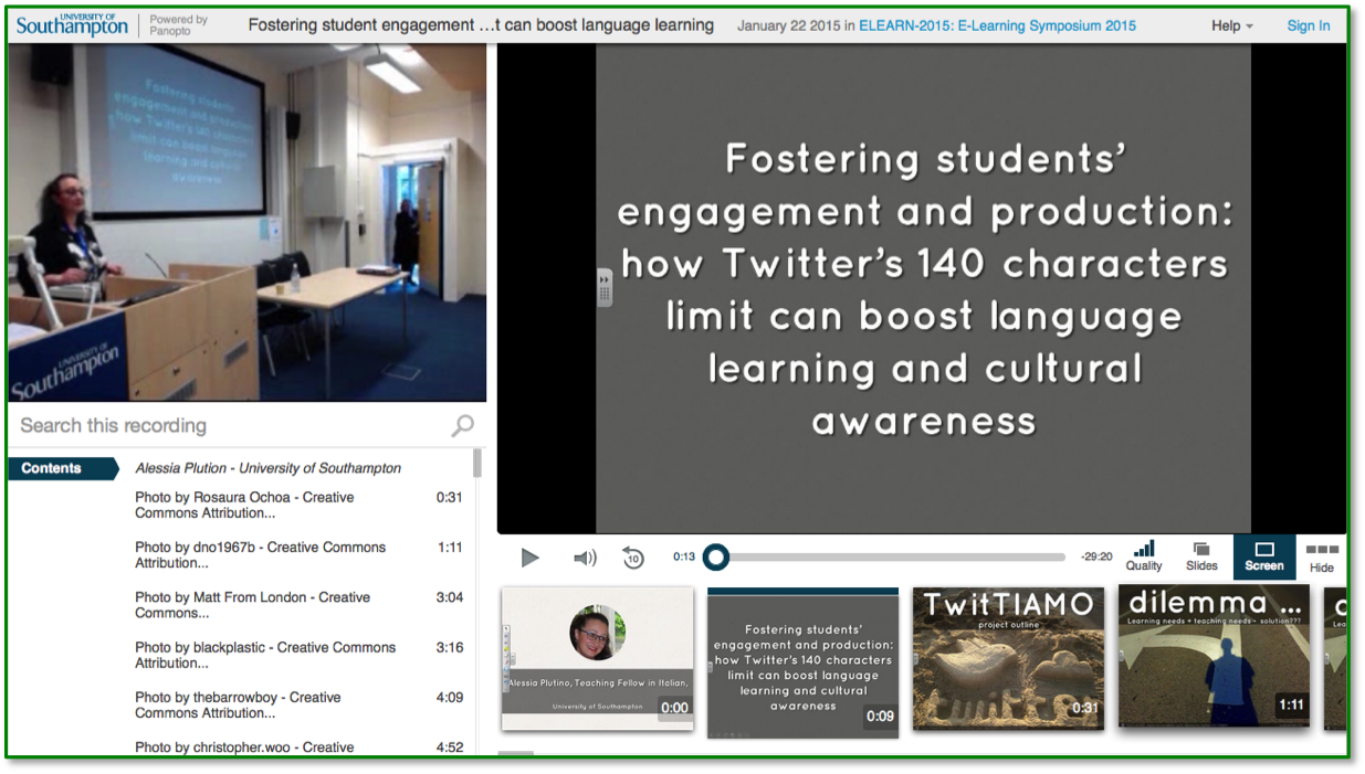How Twitter Can Boost Language Learning - Panopto Video CMS Platform