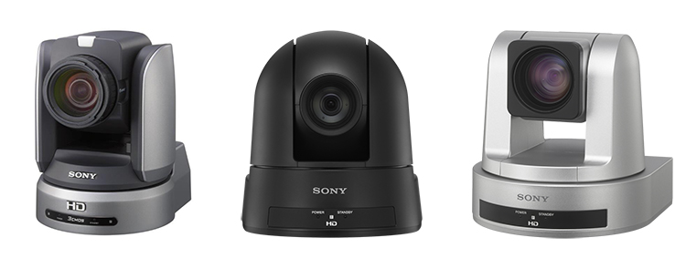 Sony PTZ Cameras for Lecture Capture and Classroom Recording