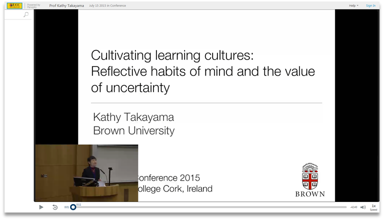Cultivating Learning Cultures - Panopto Video Presentation Software