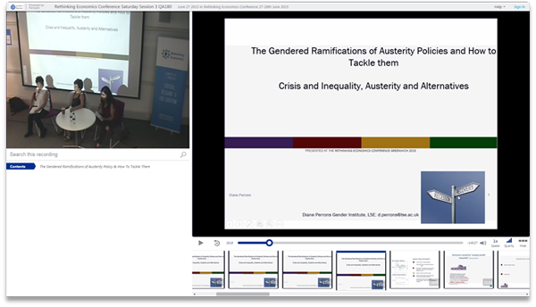 Gendered Ramifications of Austerity - Panopto Video Presentation Software