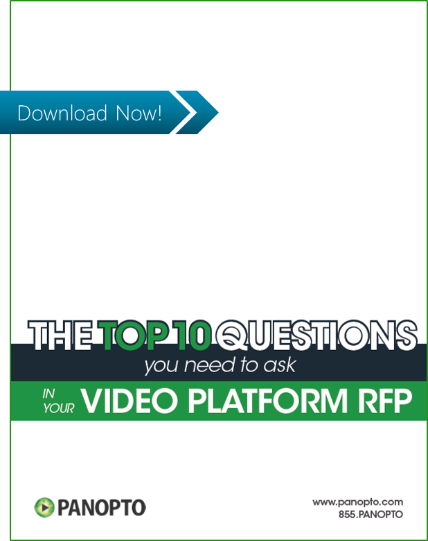 ICON - CTA - Top 10 Questions You Should Ask in Your Video Platform RFP