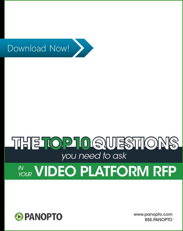 ICON - CTA - Die 10 wichtigsten Fragen, die Sie bei Ihrer Ausschreibung für eine Videoplattform stellen sollten