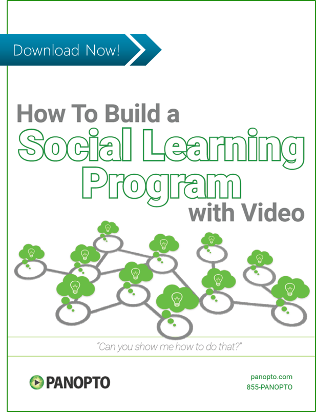 ICON - CTA - How to Build a Social Learning Program with Video