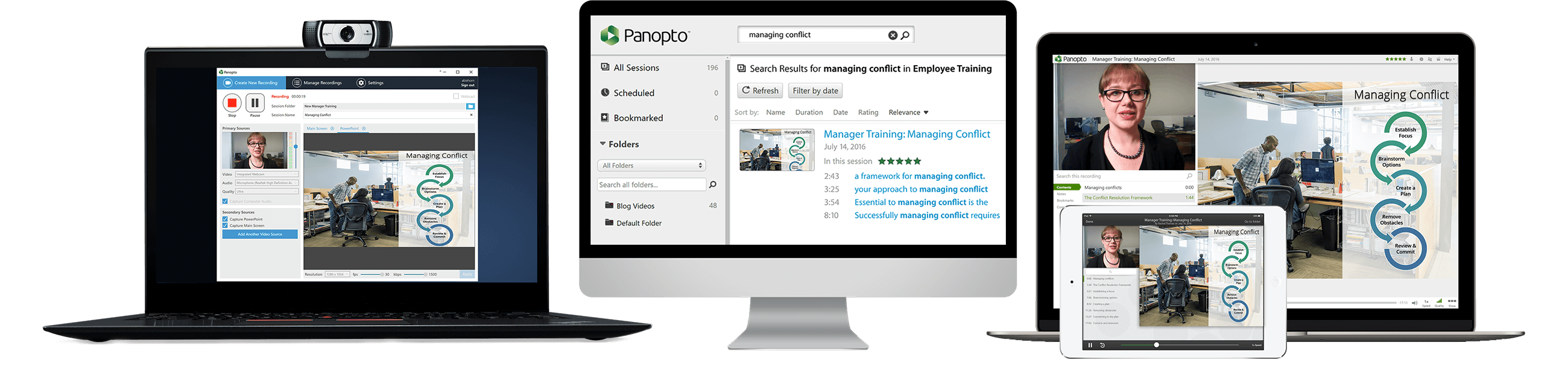 Panopto Features - An Video Platform for Business and Education