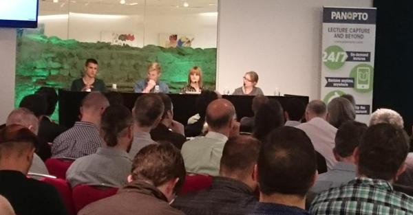 Conférence Panopto 2015 - Panel d'étudiants