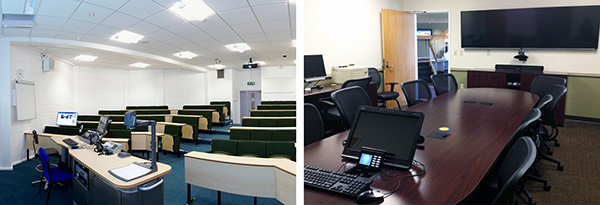 Classrooms and Conference Rooms