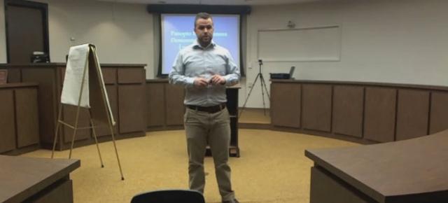 Courtroom Demonstration - Panopto Online Video Platform