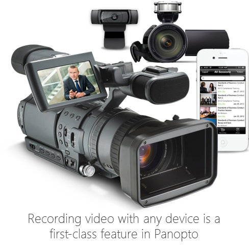 Panopto Video Platform - Recording Video with Any Device
