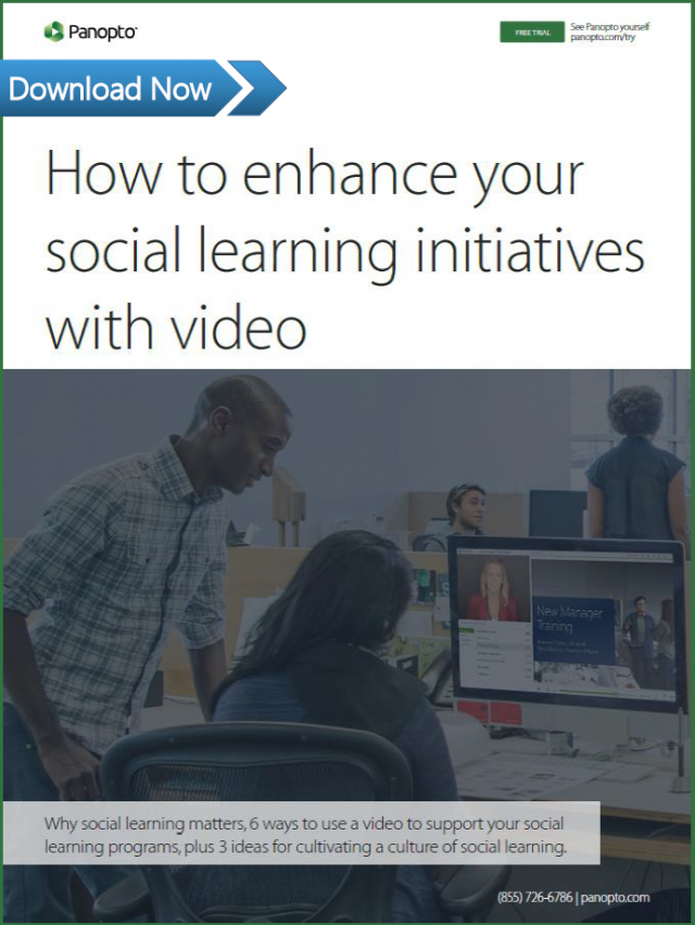 How to scale social learning with video