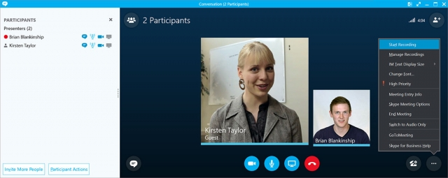 Skype for Business Recording - Panopto Video Platform