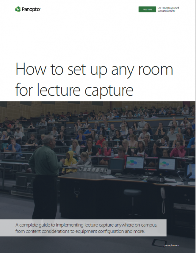 How To Set Up Any Room On Campus for Lecture Capture