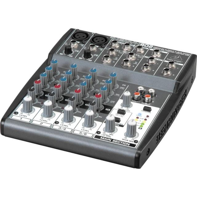 Audio mixer for lecture capture