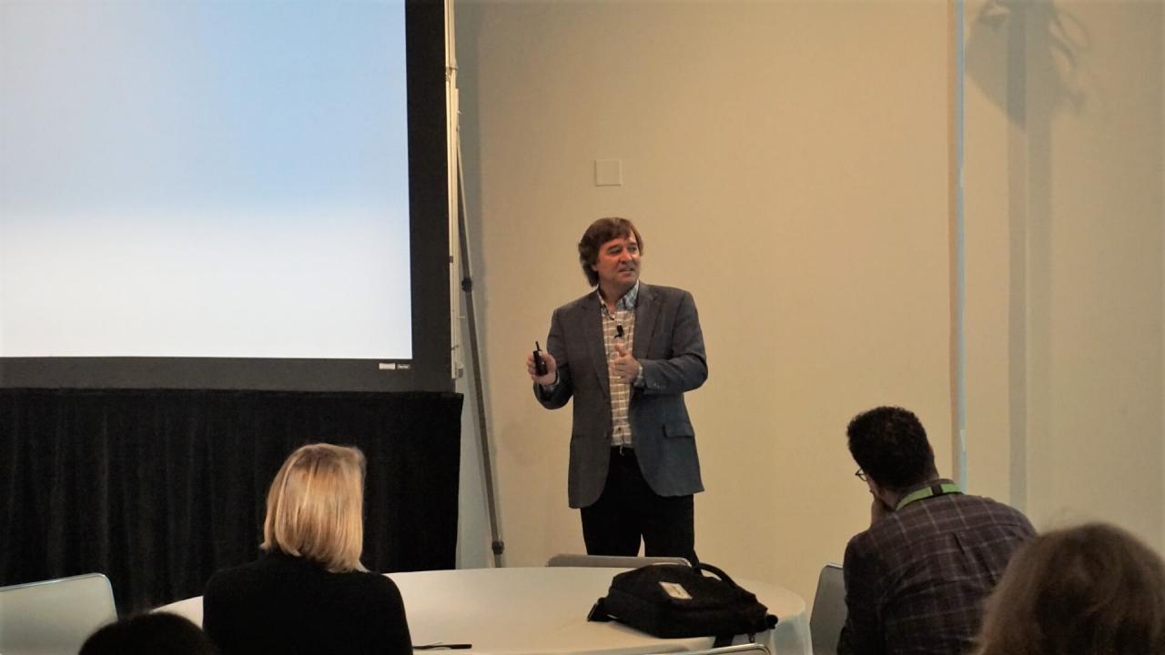 Rob Peregoodoff - L'intérêt d'enregistrer les présentations des étudiants - Conférence des utilisateurs Panopto