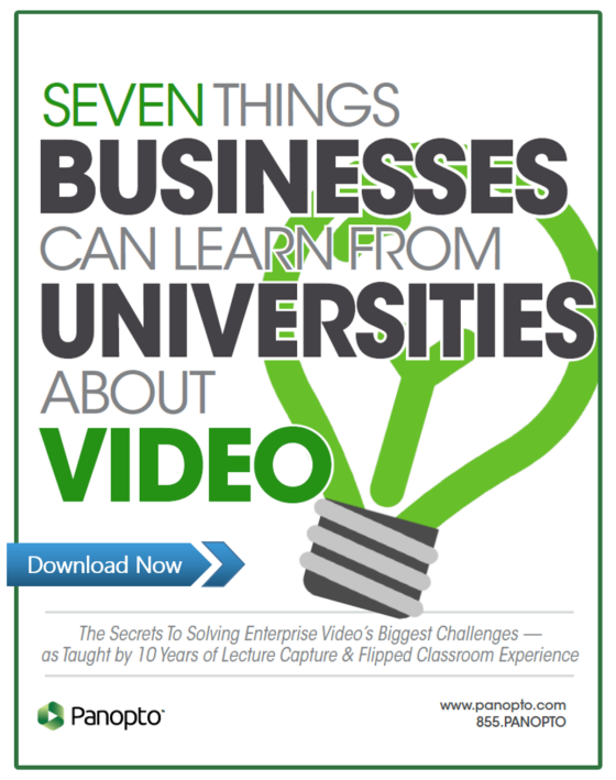 What Businesses Can Learn From Universities About Video