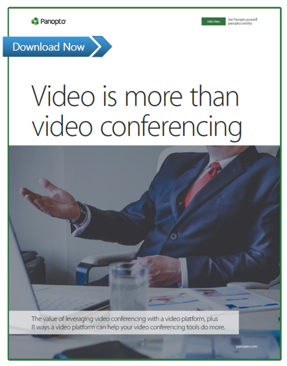 Record events, meetings and more with a video platform