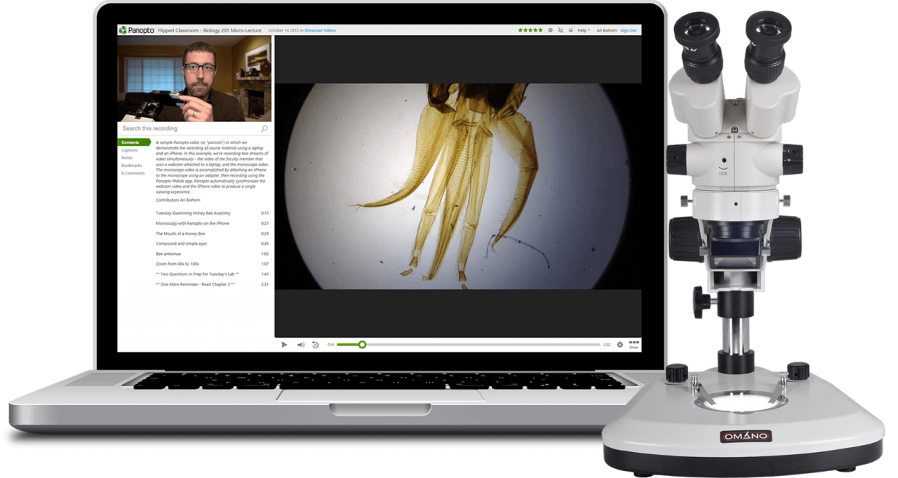 Lecture Capture & Recording Software For Education | Panopto