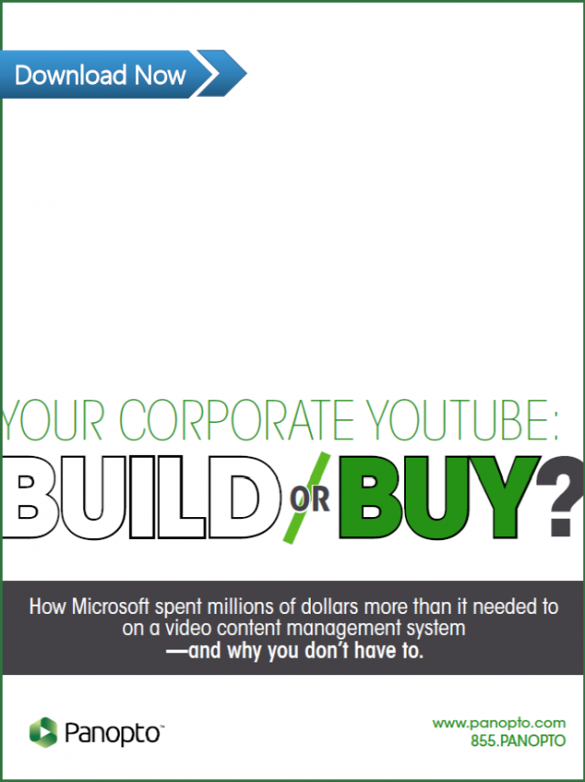 Should you build or buy a corporate video library?