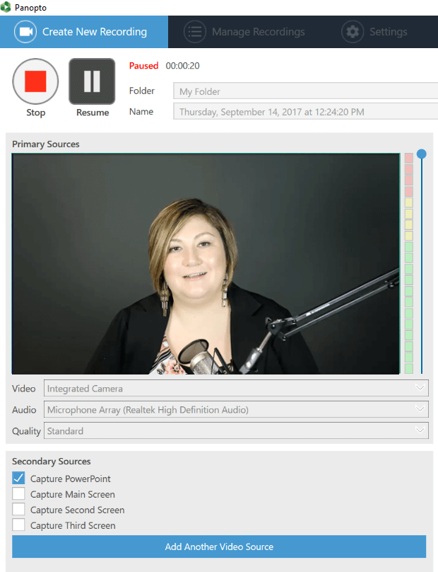 How to record training videos with Panopto