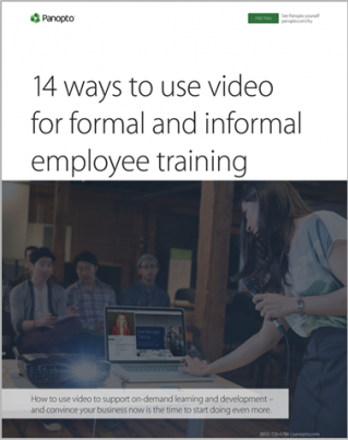 14 Opportunities to Support and Scale Employee Training with Video