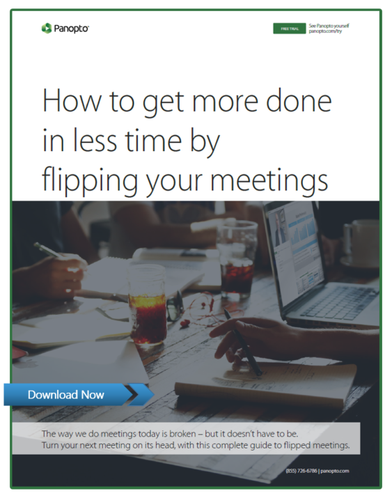The Practical Guide To Flipping Meetings