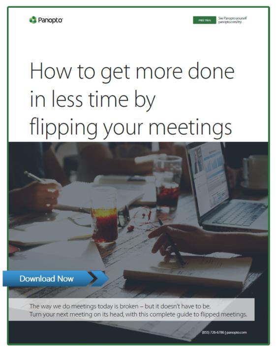 Der praktische Leitfaden zum Flippen von Meetings