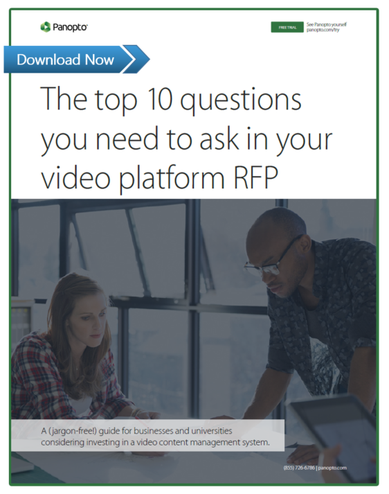 Top 10 Questions To Ask In Your Video Platform RFP