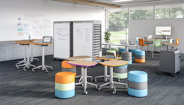 Collaboartive learning environment - classroom