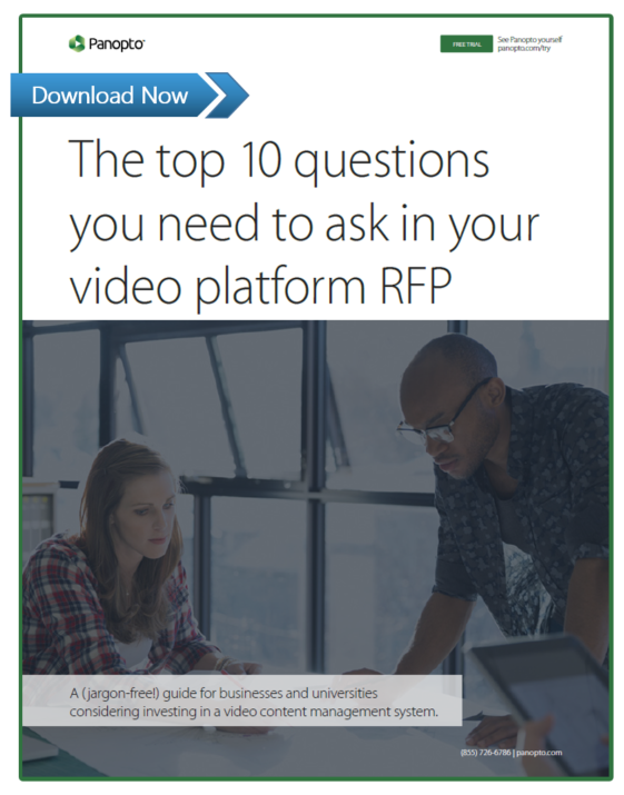 10 Questions to ask in your video platform RFP
