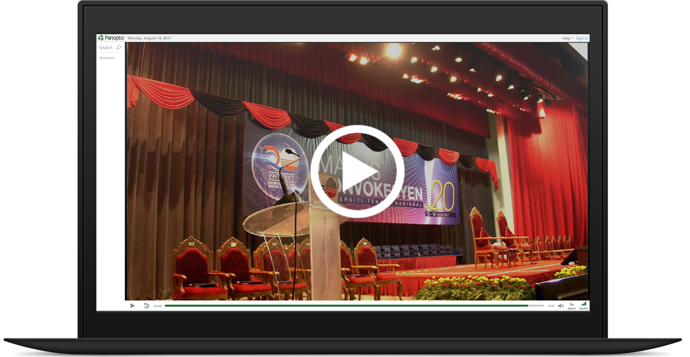 Watch UNITEN's Convocation in Panopto