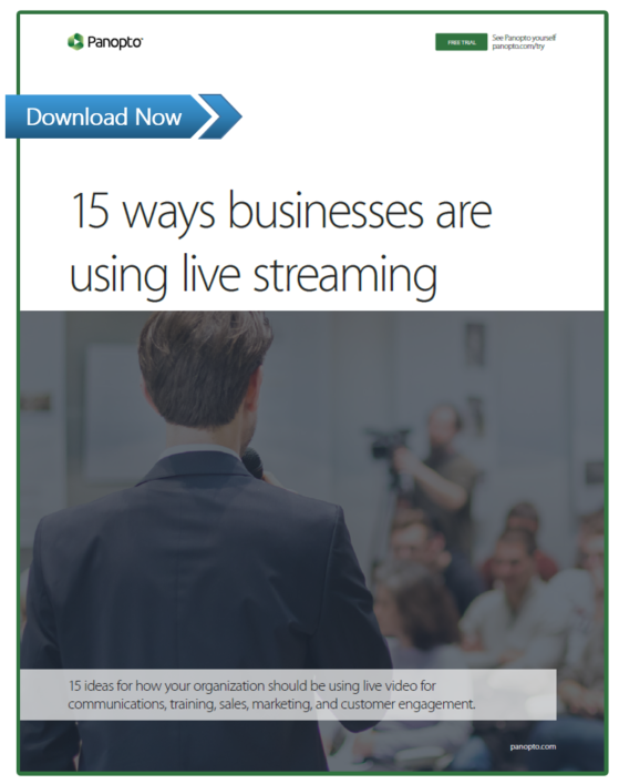 15 Ways Businesses Are Using Live Streaming