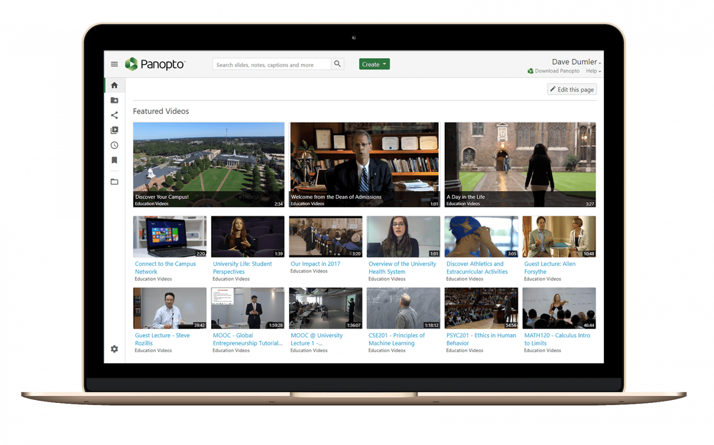 Video Content Management and Accessibility in Panopto