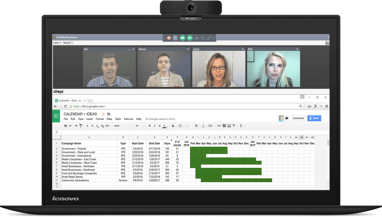 Panopto video conference recording software - GoToMeeting