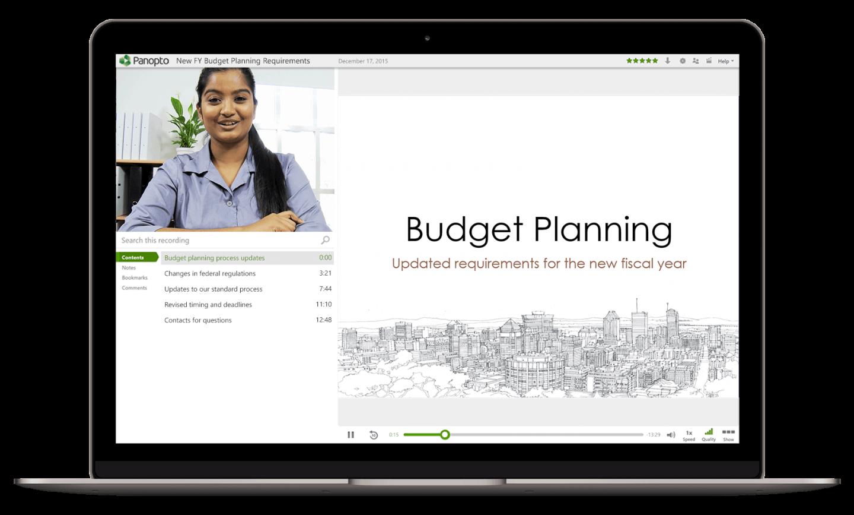 Panopto's video training platform makes employee training easy to scale