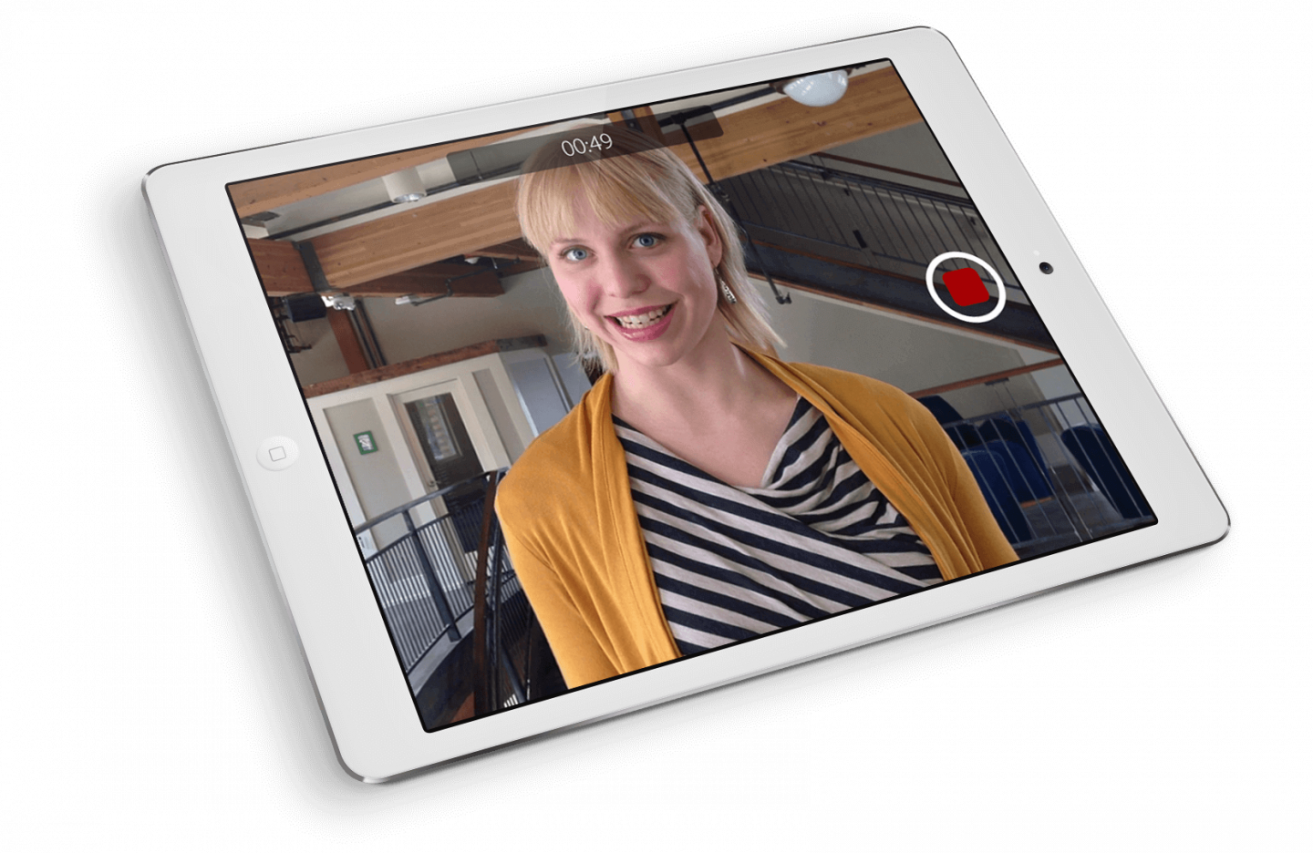 Panopto's easy to set up distributed recording enables synced video recording of company town hall events
