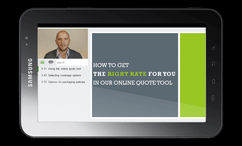 Create customer facing videos with Panopto