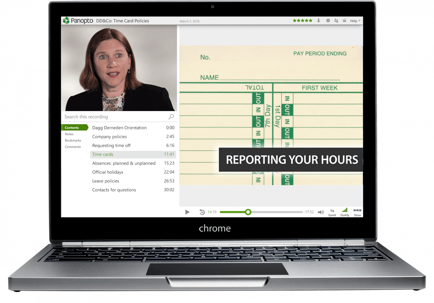 Help employees retain information with Panopto's searchable employee onboarding videos
