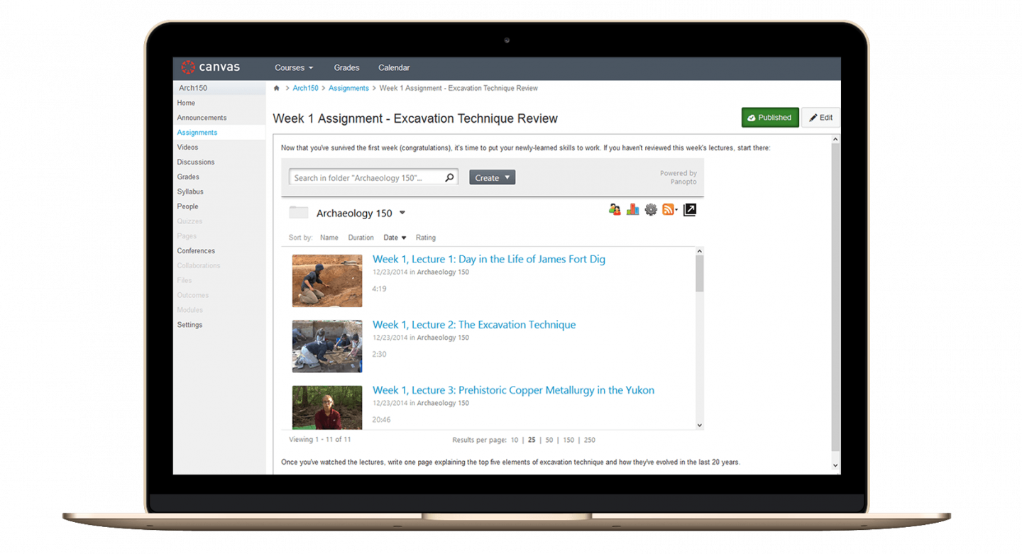 Panopto's flipped classroom software is an integrated video platform for managing and sharing your videos