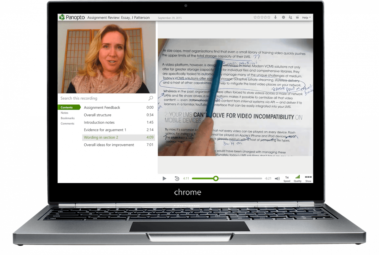 Panopto's K-12 video platform is an affordable, flexible video learning solution