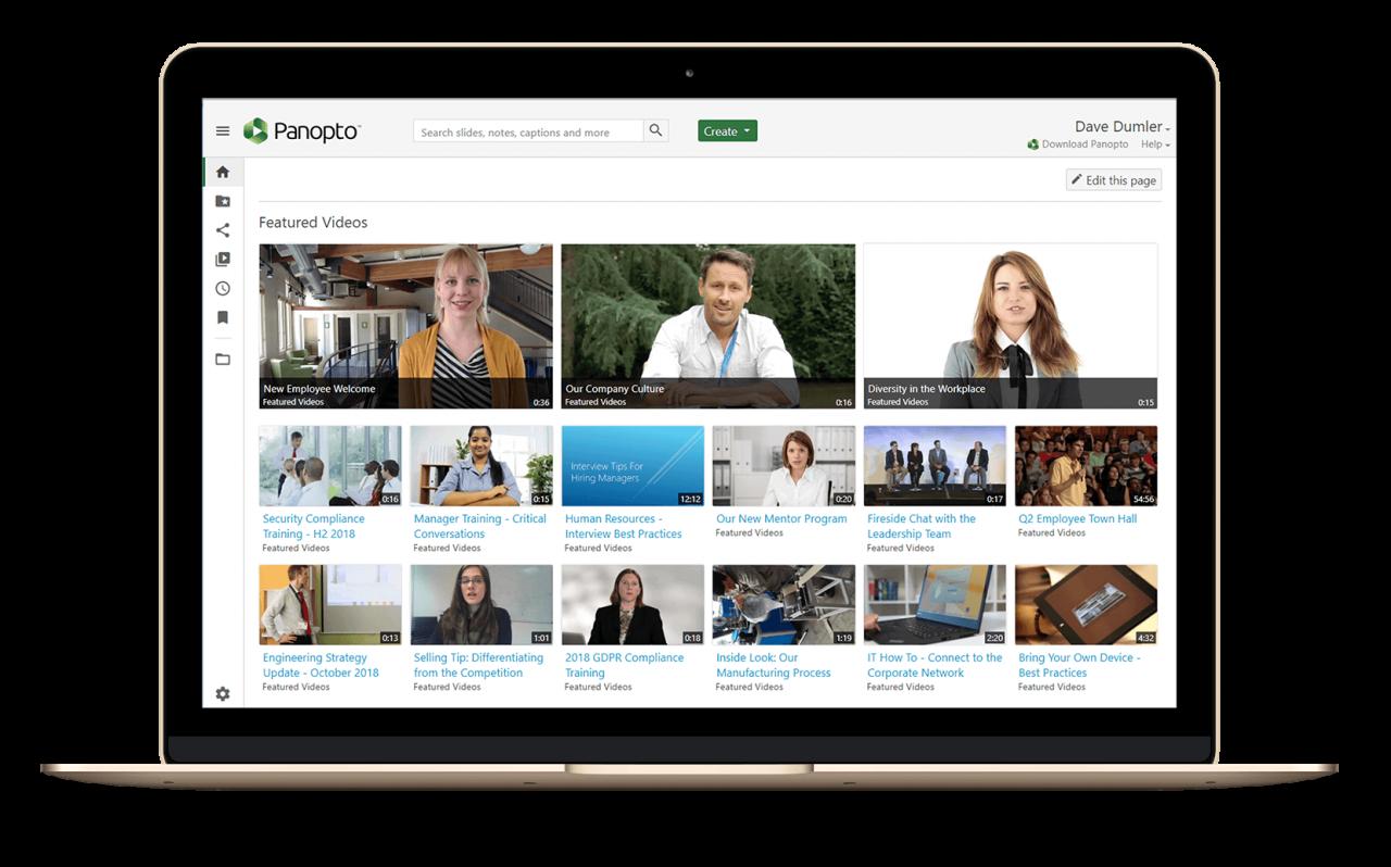Centralisez et diffusez vos vidéos en toute sécurité grâce à la plateforme de gestion de contenu vidéo en ligne de Panopto