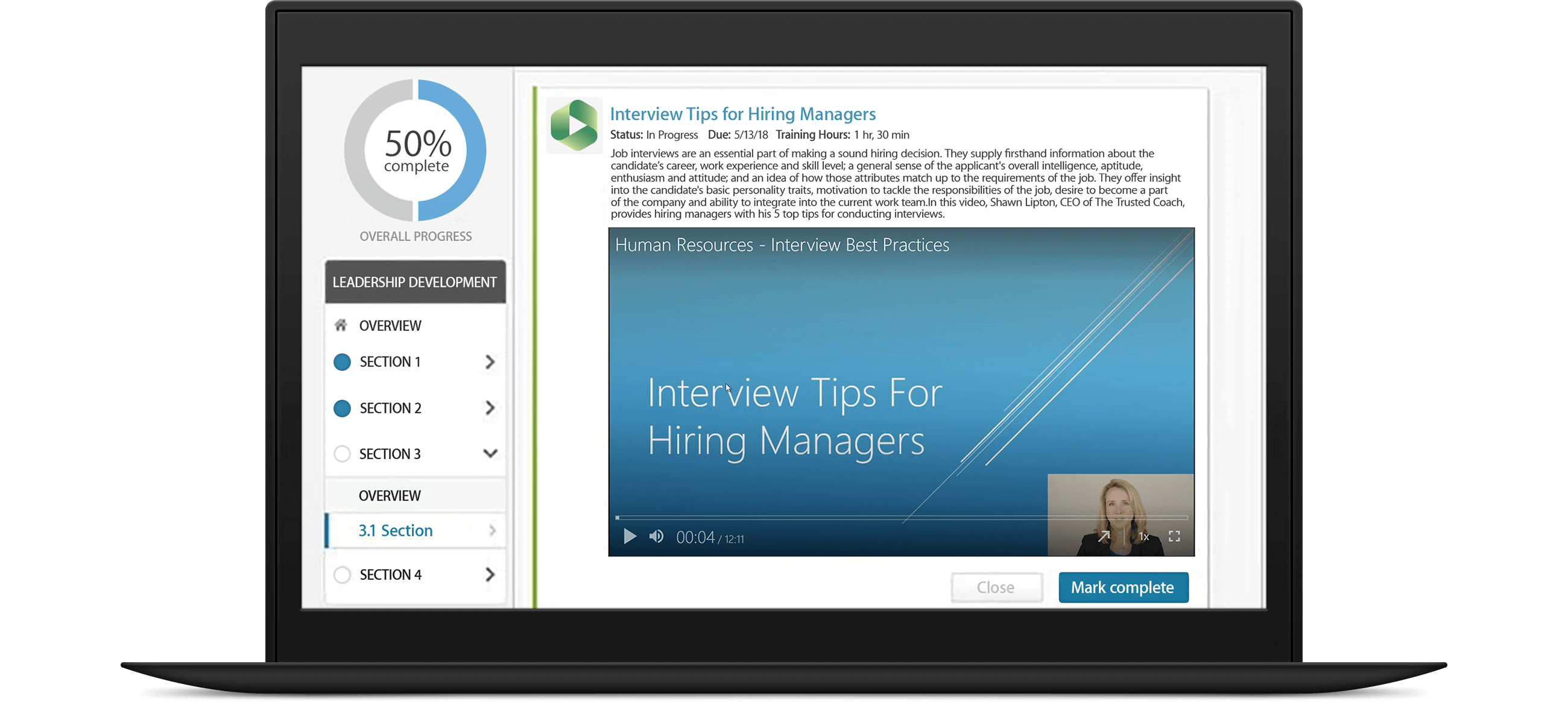 Panopto's Cornerstone integration makes finding training videos easy in your LMS