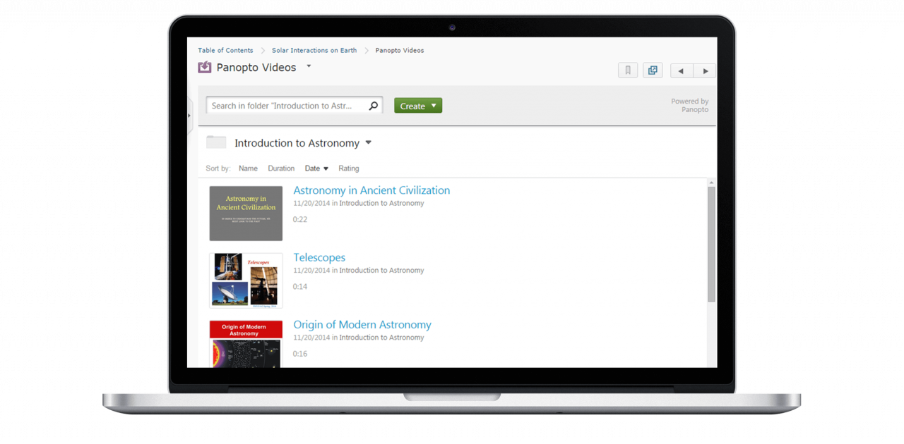 Support video in your Brightspace LMS with Panopto's D2L integration