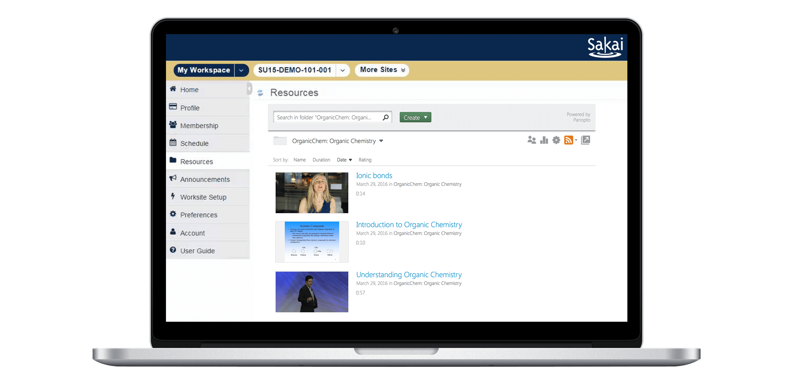 Panopto is the easiest way to support video in your Sakai learning management system